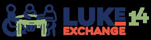 Luke 14 Exchange Horizontal Full Color Logo