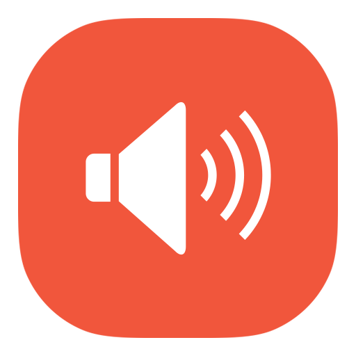 Orange Audio Voice Icon